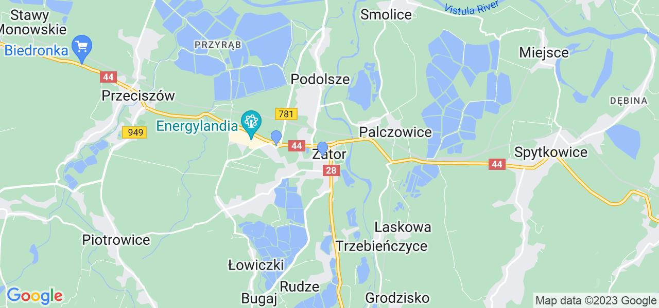 Dostępne w Zatorze lokalizacje punktów nadania, z których możesz skorzystać, chcąc wysłać turbinę do regeneracji w największym serwisie w Polsce