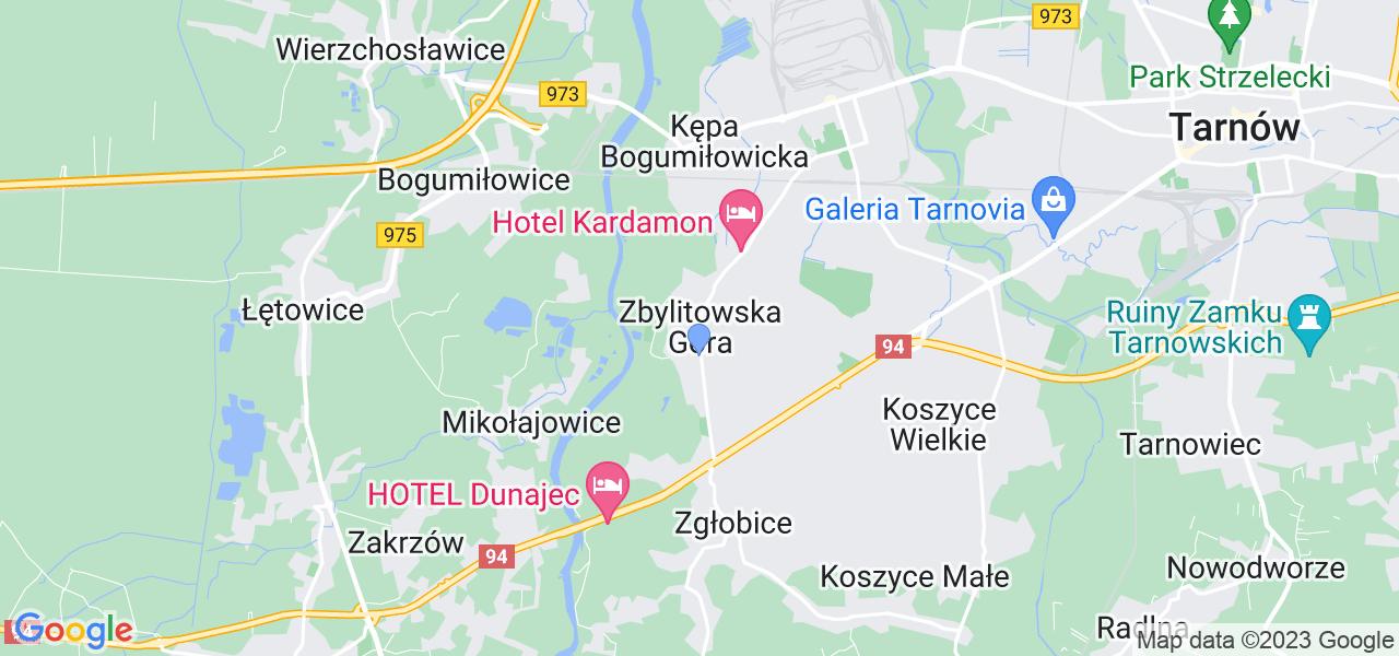 Dostępne w Zbylitowskiej Górze lokalizacje punktów nadania, z których możesz skorzystać, chcąc wysłać turbinę do regeneracji w największym serwisie w Polsce