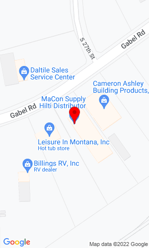 Google Map of MaCon Supply P.O. Box 80250 , Billings, MT, 59108,