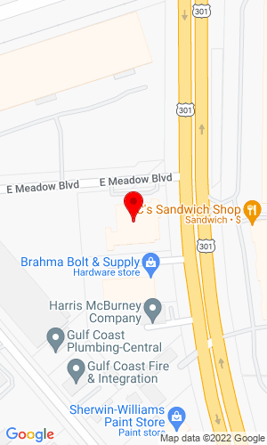 Google Map of MacKinnon JCB 2230 N. US Highway 301, Tampa, FL, 33619,