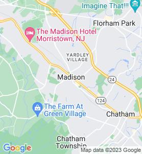 Madison NJ Map