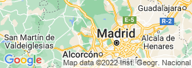 Majadahonda map
