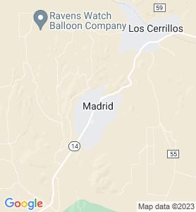 Madrid NM Map