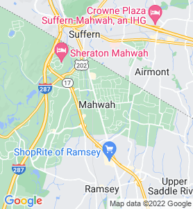 Mahwah NJ Map