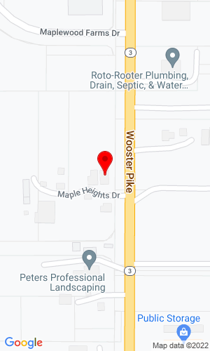 Google Map of Maibach Machinery, Inc. 7040 Wooster Pike, Medina, OH, 44256,