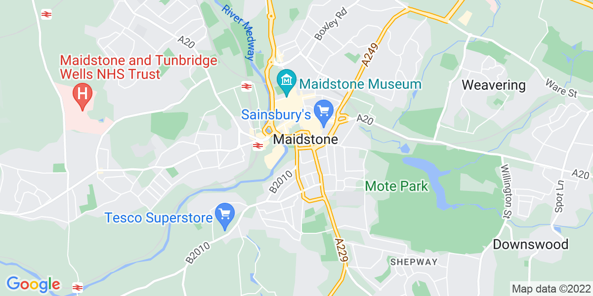 Map: Migration Engineer job role in Maidstone