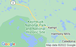 Map of Jeremys Bay Campground