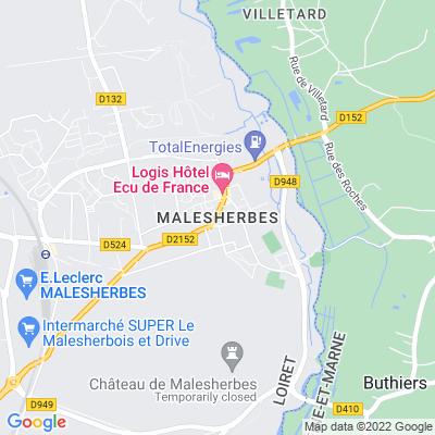 bed and breakfast Malesherbes