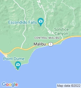Malibu CA Map