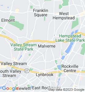 Malverne NY Map