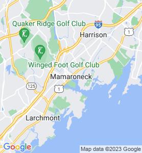 Mamaroneck NY Map