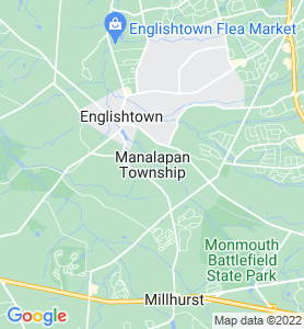 Manalapan NJ Map