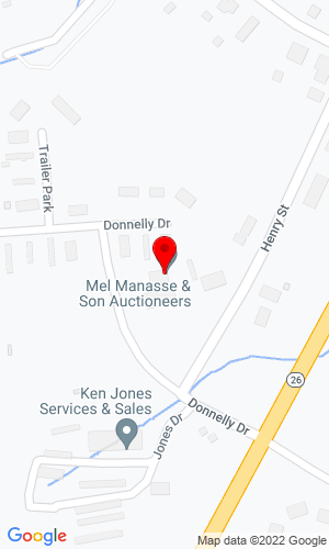 Google Map of Manasse Auctioneers 2924 US Route 11, Whitney Point, NY, 13862,