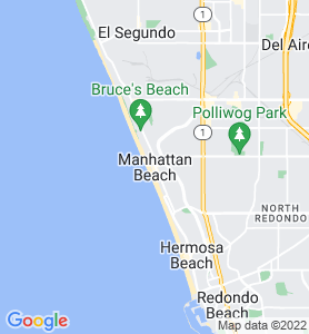 Manhattan Beach CA Map