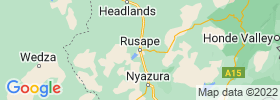 Rusape map
