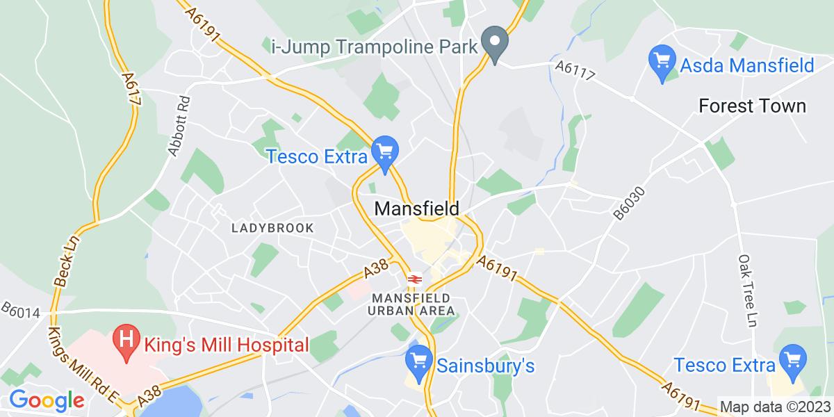 Map: Sales Specialist (Computing) job in Mansfield