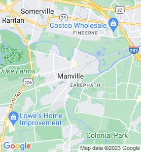 Manville NJ Map