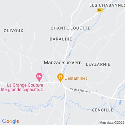 bed and breakfast Manzac-sur-Vern