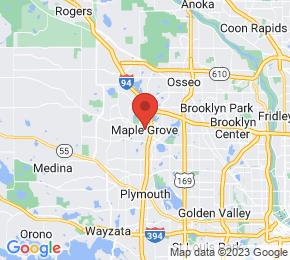 Job Map - Maple Grove, Minnesota  US