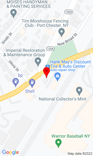 Google Map of Marciano's 219 Boston Post Road, Port Chester, NY,