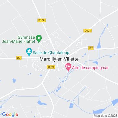 bed and breakfast Marcilly-en-Villette