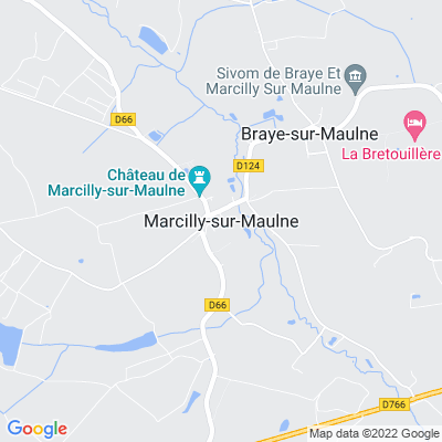 bed and breakfast Marcilly-sur-Maulne