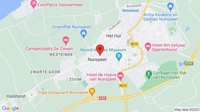 Van+de+Bunte+Nunspeet op Google Maps
