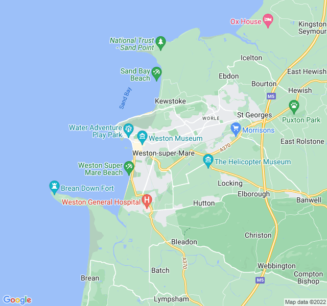 Website Designer Mare Google map of location