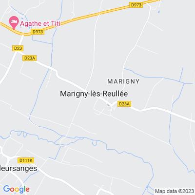bed and breakfast Marigny-lès-Reullée