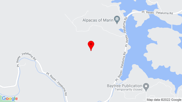 Google Map of Marin County (and surrounding areas)