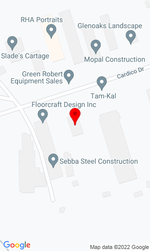 Google Map of Markham Equipment Sales 36 Cardico Drive, Gormley, ON,