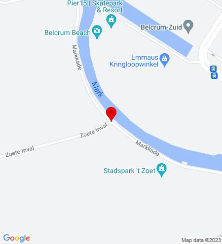 Google Map of Markkade 1AB 4815 HJ Breda