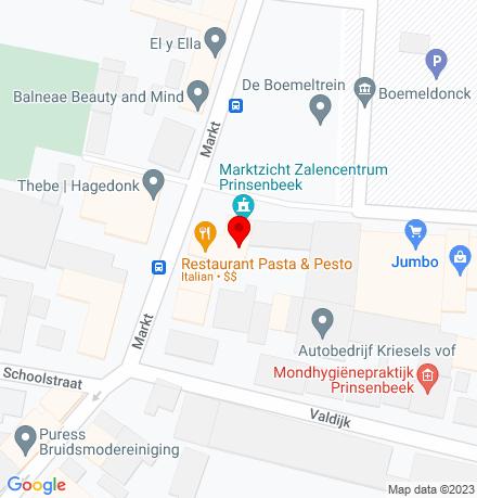 Google Map of Markt 10 4841 AC Prinsenbeek