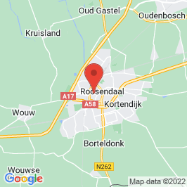 Google map of St. Jan, Roosendaal