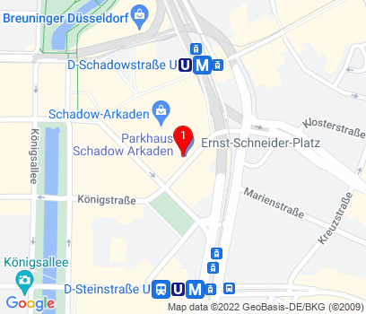 Google Map of Duesseldorf