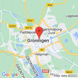 Google map of Prinsenhof, Groningen