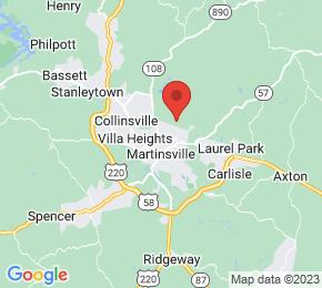 Job Map - Martinsville, Virginia 24112 US