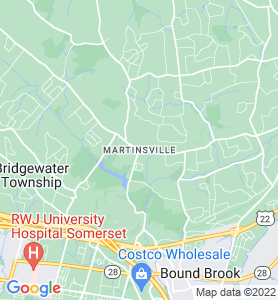 Martinsville NJ Map