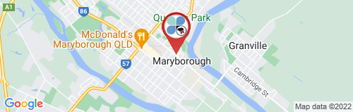 Maryborough google map