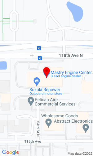 Google Map of Mastry Engine Center, LLC 2801 Anvil Street North, St Petersburg, FL, 33710