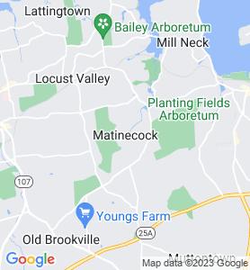 Matinecock NY Map