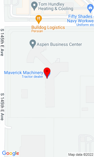 Google Map of Maverick Machinery & Rentals  3910 Garman Road, Gillette, WY, 82716