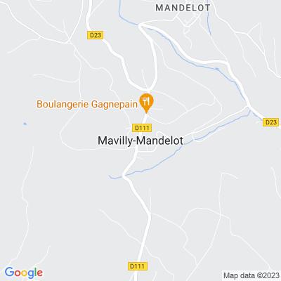 bed and breakfast Mavilly-Mandelot