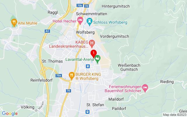Routenplaner Max-Joham-Platz,+9400+Wolfsberg