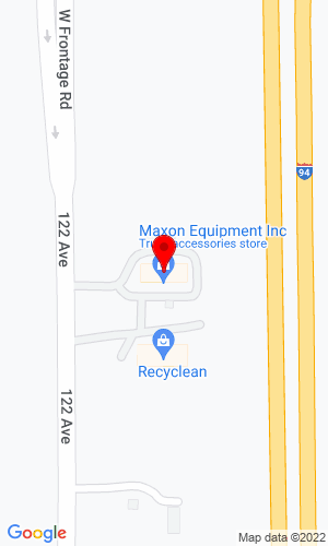 Google Map of Maxon Equipment Inc. 6221 122nd Avenue, Kenosha , WI, 53142
