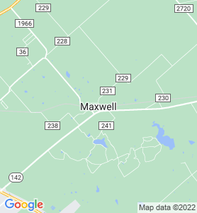Maxwell TX Map