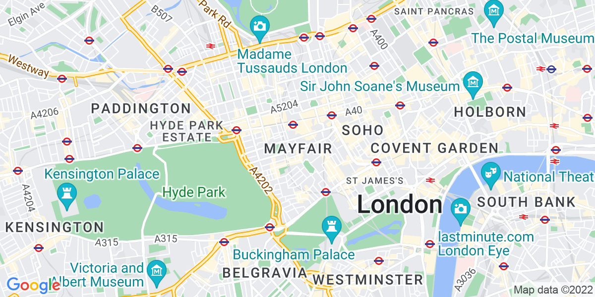 Map: Recruitment Consultant - Language Speaker Urgently Required! job in Mayfair