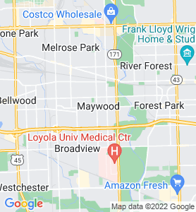 Maywood IL Map