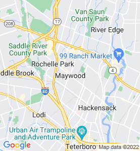 Maywood NJ Map