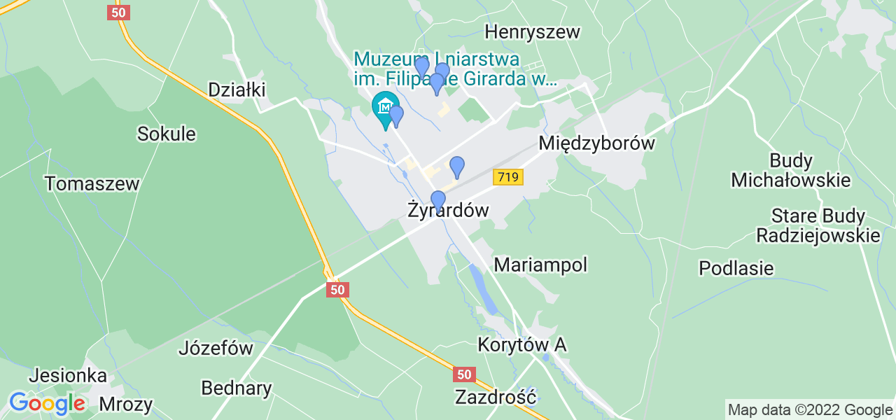 Dostępne w Żyrardowie lokalizacje punktów nadania, z których możesz skorzystać, chcąc wysłać turbinę do regeneracji w największym serwisie w Polsce